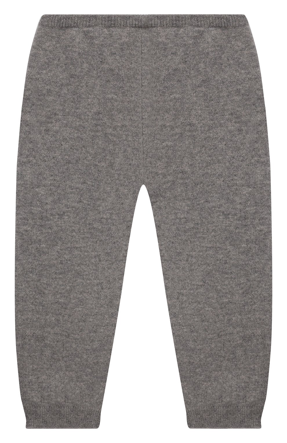 Детские кашемировые джоггеры OSCAR ET VALENTINE серого цвета, арт. LЕG01BS   Фото 2 (Материал внешний: Шерсть, Кашемир; Ростовка одежда: 12 мес   80 см, 18 мес   86 см, 2 года   92 см)