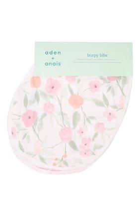 Детский комплект из двух нагрудников ADEN+ANAIS розового цвета, арт. ABBC20007 | Фото 1
