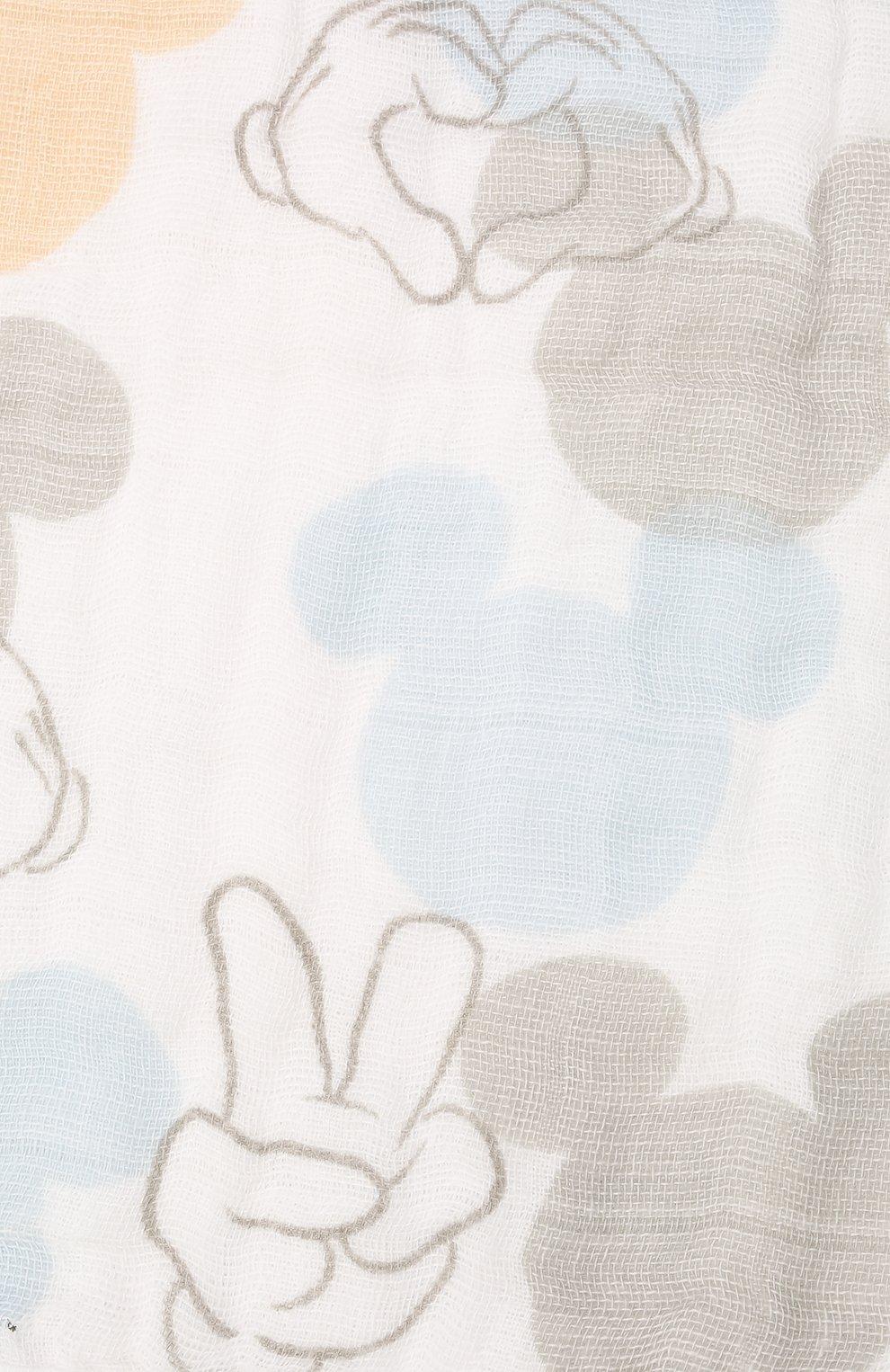 Детский комплект из трех нагрудников ADEN+ANAIS разноцветного цвета, арт. ASNC30009DI | Фото 3