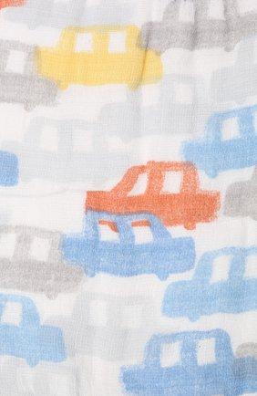 Детский комплект из трех нагрудников ADEN+ANAIS голубого цвета, арт. ESNC30009 | Фото 2