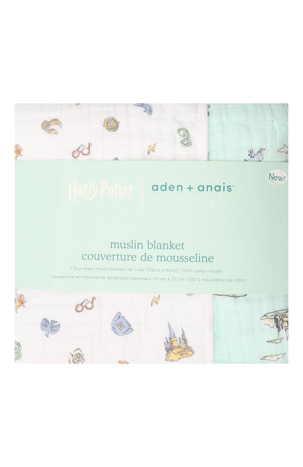 Детского хлопковое одеяло ADEN+ANAIS разноцветного цвета, арт. EMBC10009HP | Фото 1