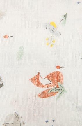 Детского комплект из четырех пеленок ADEN+ANAIS разноцветного цвета, арт. ASWC40010 | Фото 3