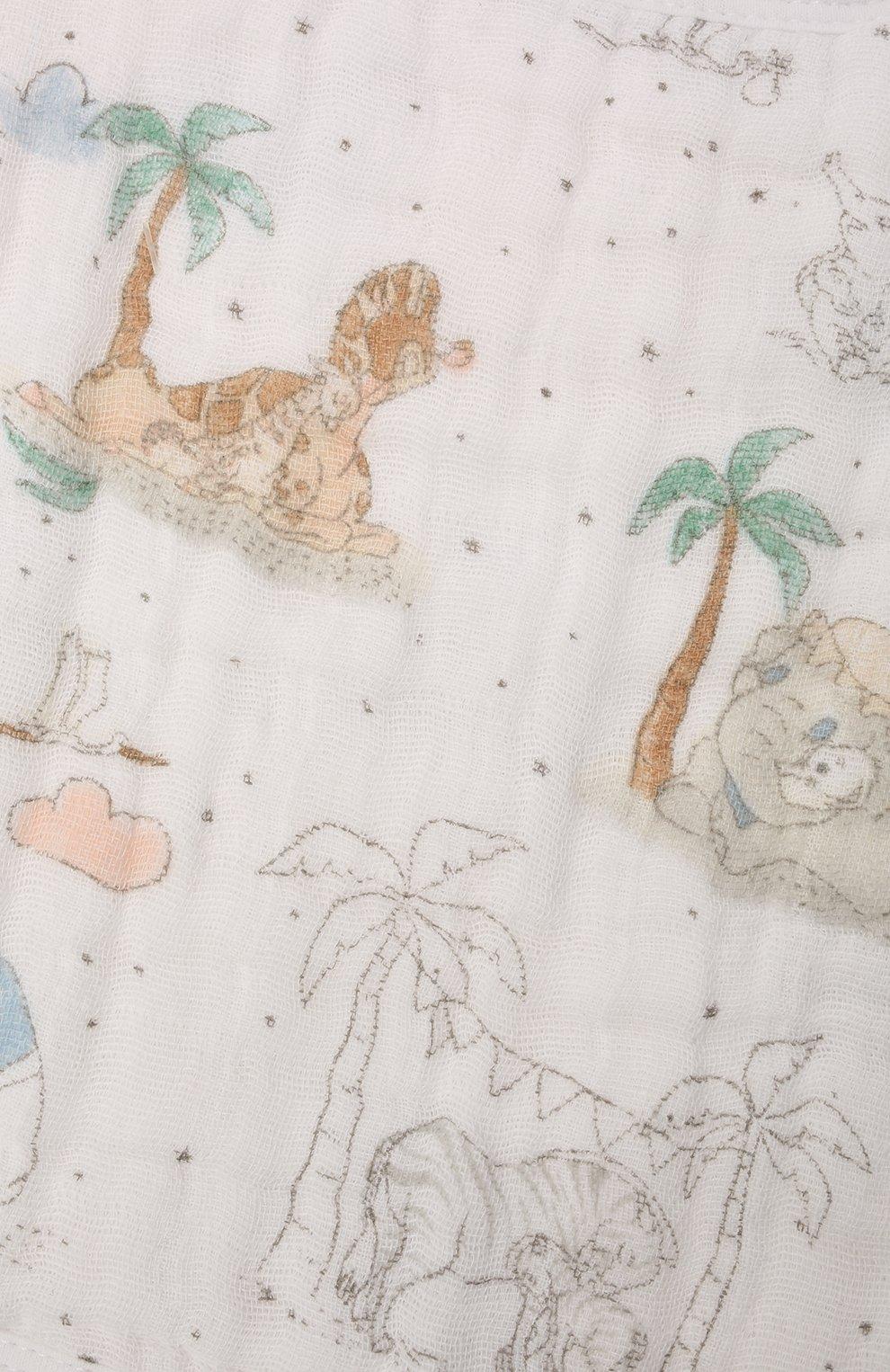 Детский комплект из трех нагрудников ADEN+ANAIS разноцветного цвета, арт. ASNC30010DI | Фото 2