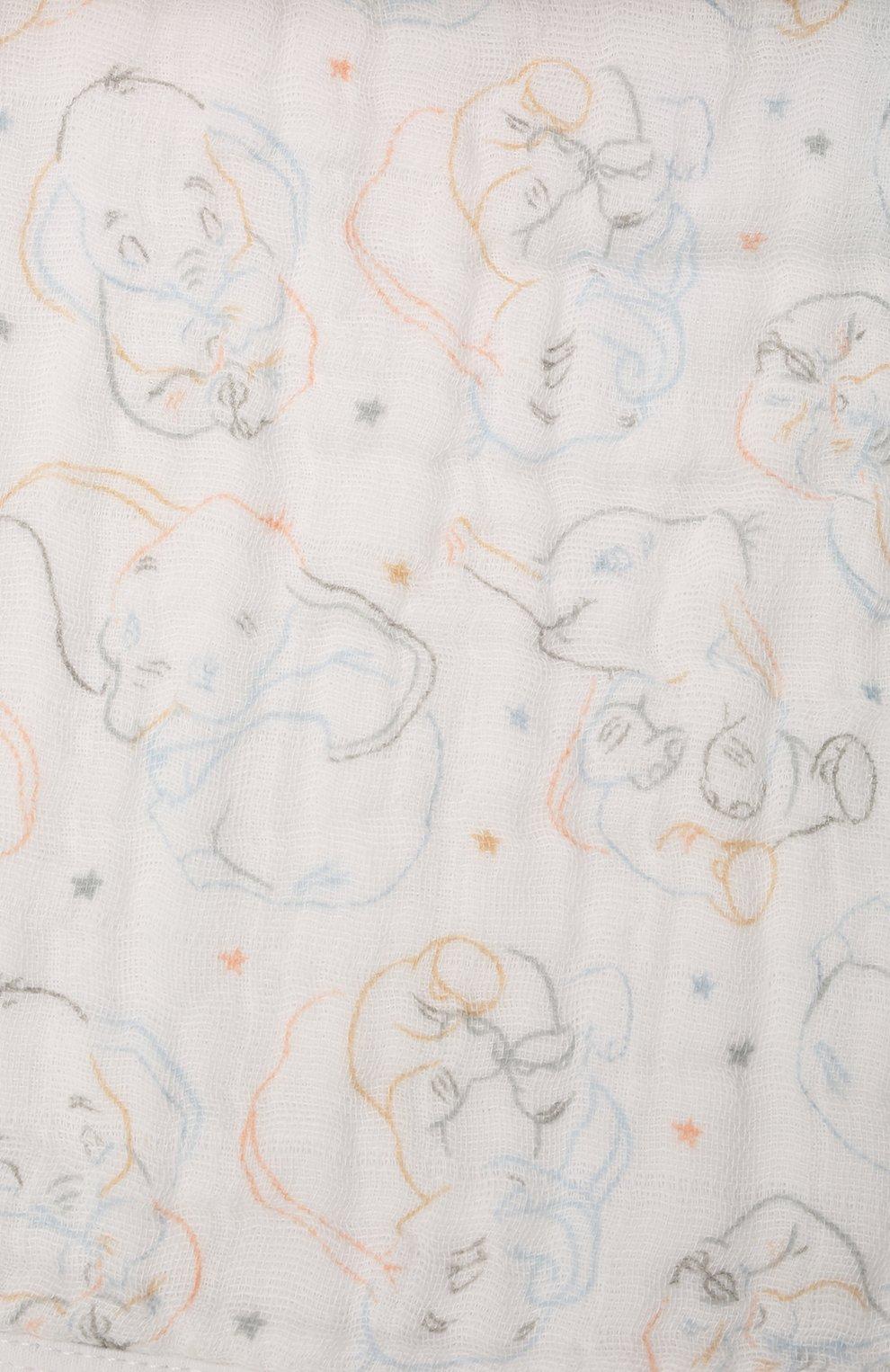 Детский комплект из трех нагрудников ADEN+ANAIS разноцветного цвета, арт. ASNC30010DI | Фото 4