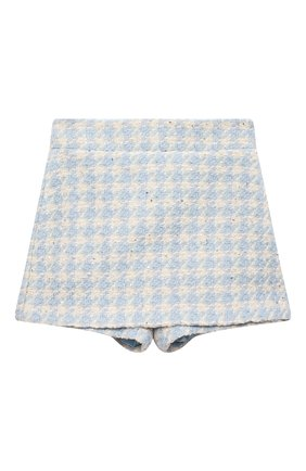 Детская юбка-шорты ZHANNA & ANNA голубого цвета, арт. ZALB10012021/1 | Фото 1