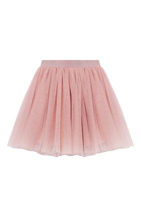 Детская юбка ZHANNA & ANNA светло-розового цвета, арт. ZAGB10022021 | Фото 1