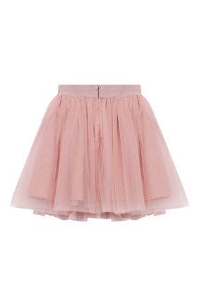 Детская юбка ZHANNA & ANNA светло-розового цвета, арт. ZAGB10022021 | Фото 2