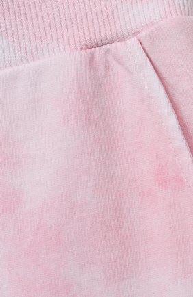 Детские хлопковые джоггеры JAKIOO розового цвета, арт. 497403   Фото 3 (Девочки Кросс-КТ: Брюки-одежда; Материал внешний: Хлопок; Ростовка одежда: 10 - 11 лет   140 - 146см, 12 лет   152 см, 8 лет   128 см, 13 - 15 лет   158 см)