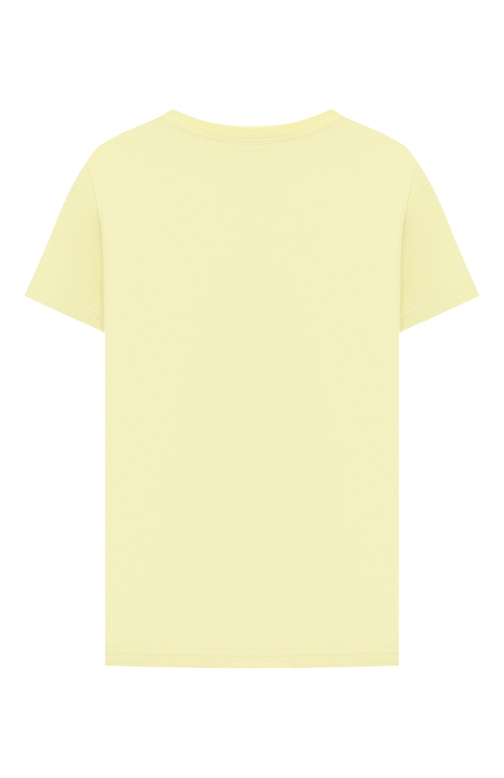 Детский хлопковая футболка IL GUFO желтого цвета, арт. P21TS271M0014/10A-12A | Фото 2