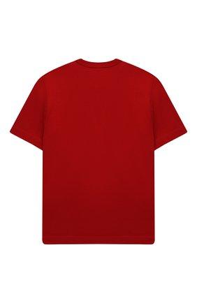 Детская хлопковая футболка N21 красного цвета, арт. N21035/N0003/N21T81M   Фото 2