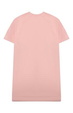 Детское хлопковое платье MARNI розового цвета, арт. M00103-M00J6 | Фото 2