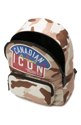 Детская рюкзак DSQUARED2 коричневого цвета, арт. DQ0267-D006E | Фото 3