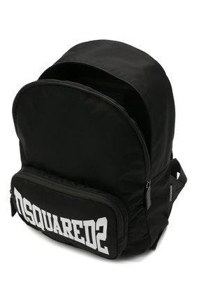 Детская рюкзак DSQUARED2 черного цвета, арт. DQ0139-D005T | Фото 3