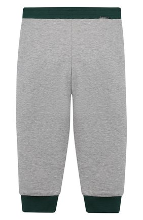 Детский комплект из толстовки с брюками MONCLER серого цвета, арт. G1-951-8M756-20-809AC   Фото 5