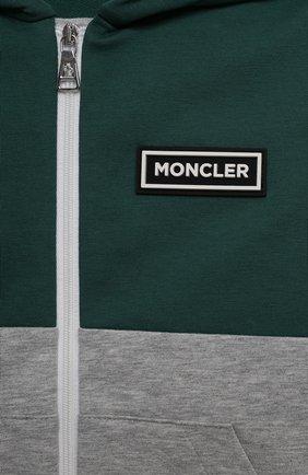 Детский комплект из толстовки с брюками MONCLER серого цвета, арт. G1-951-8M756-20-809AC   Фото 6