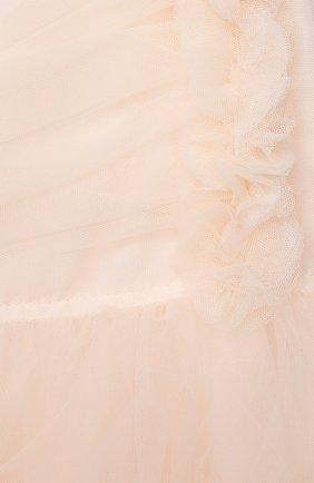 Детское хлопковое платье ALETTA розового цвета, арт. HTS21780/4A-8A   Фото 3