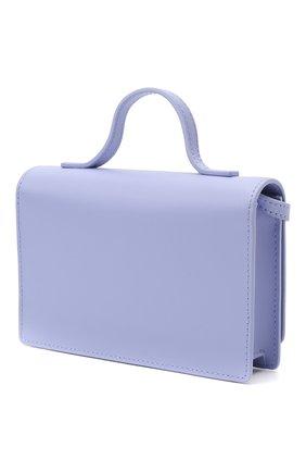 Детская кожаная сумка EMPORIO ARMANI сиреневого цвета, арт. 392537/1P560   Фото 2
