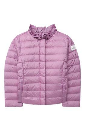 Детская пуховая куртка IL GUFO сиреневого цвета, арт. P21GR157N0068/2A-4A | Фото 1