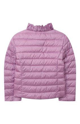 Детская пуховая куртка IL GUFO сиреневого цвета, арт. P21GR157N0068/2A-4A | Фото 2