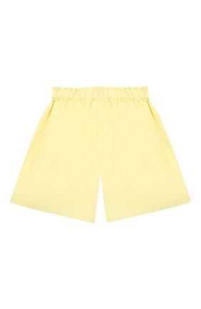 Детские хлопковые шорты IL GUFO желтого цвета, арт. P21PB148C6032/2A-4A | Фото 2