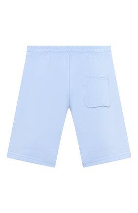 Детские хлопковые шорты DAL LAGO голубого цвета, арт. N533/9021/13-16   Фото 2