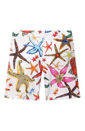 Детские шорты VERSACE разноцветного цвета, арт. 1000431/1A00413/8A-14A | Фото 2