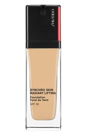 Тональное средство skin radiant lifting foundation spf 30, 250 sand SHISEIDO бесцветного цвета, арт. 16742SH | Фото 1