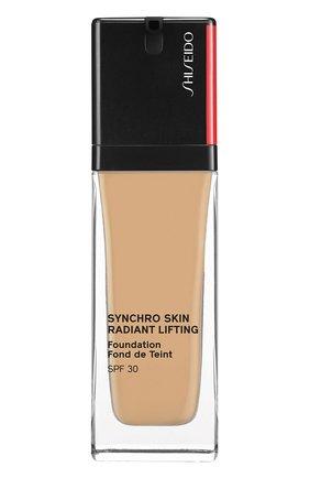 Тональное средство skin radiant lifting foundation spf 30, 330 bamboo SHISEIDO бесцветного цвета, арт. 16746SH | Фото 1