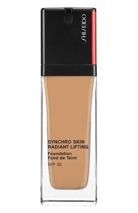 Тональное средство skin radiant lifting foundation spf 30, 350 maple SHISEIDO бесцветного цвета, арт. 16748SH | Фото 1