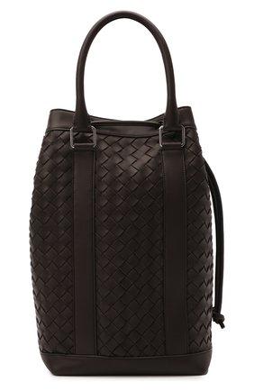 Мужской кожаный рюкзак BOTTEGA VENETA темно-коричневого цвета, арт. 651914/V0E51 | Фото 1