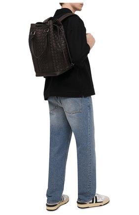 Мужской кожаный рюкзак BOTTEGA VENETA темно-коричневого цвета, арт. 651914/V0E51 | Фото 2