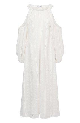 Женское хлопковое платье REJINA PYO белого цвета, арт. F313/C0TT0N BR0DERIE ANGLAISE | Фото 1