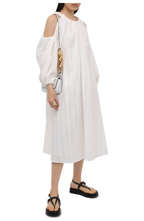Женское хлопковое платье REJINA PYO белого цвета, арт. F313/C0TT0N BR0DERIE ANGLAISE | Фото 2