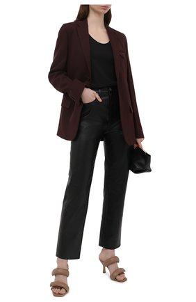 Женский хлопковая майка DRIES VAN NOTEN черного цвета, арт. 211-11146-2600   Фото 2 (Материал внешний: Хлопок; Длина (для топов): Стандартные; Стили: Спорт-шик; Рукава: Без рукавов; Кросс-КТ: без рукавов; Женское Кросс-КТ: Майка-одежда)