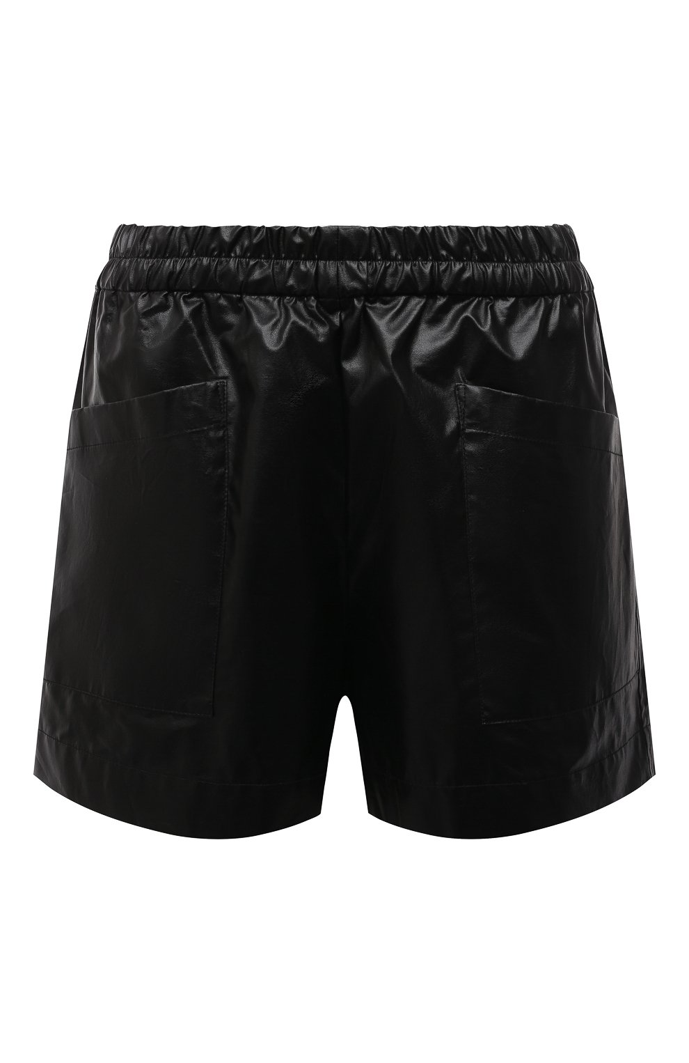 Женские хлопковые шорты DRIES VAN NOTEN черного цвета, арт. 211-10953-2326 | Фото 1