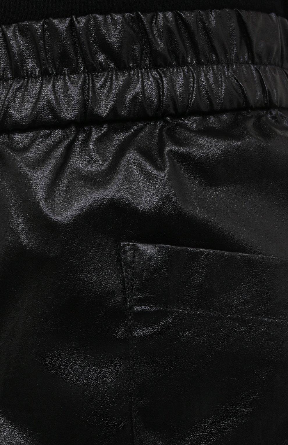 Женские хлопковые шорты DRIES VAN NOTEN черного цвета, арт. 211-10953-2326 | Фото 5