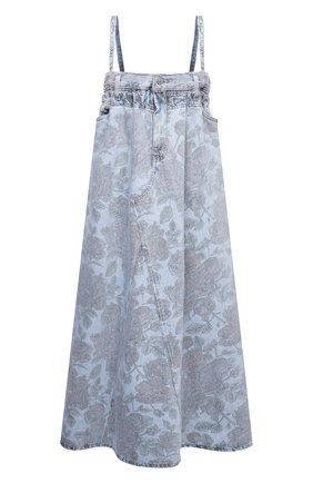 Женское джинсовое платье ganni x levi's GANNI голубого цвета, арт. F6091 | Фото 1