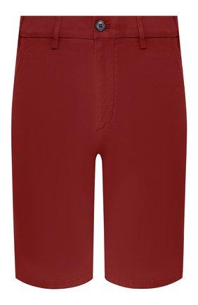 Мужские хлопковые шорты LORO PIANA красного цвета, арт. FAE8348 | Фото 1