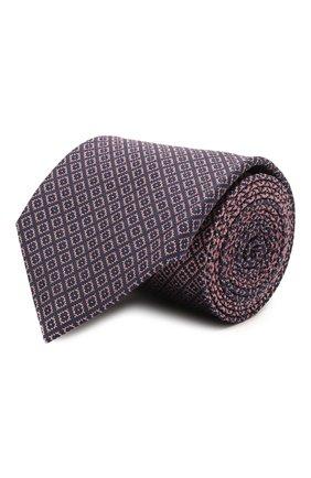 Мужской шелковый галстук BRIONI розового цвета, арт. 061Q00/P0498 | Фото 1