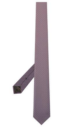 Мужской шелковый галстук BRIONI розового цвета, арт. 061Q00/P0498 | Фото 2