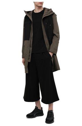 Мужские комбинированные кроссовки MOMA черного цвета, арт. 4AS130-ML | Фото 2