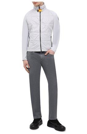 Мужская утепленная куртка spectre PARAJUMPERS светло-серого цвета, арт. BW02/SPECTRE | Фото 2