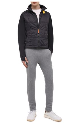 Мужская утепленная куртка spectre PARAJUMPERS темно-серого цвета, арт. BW02/SPECTRE | Фото 2