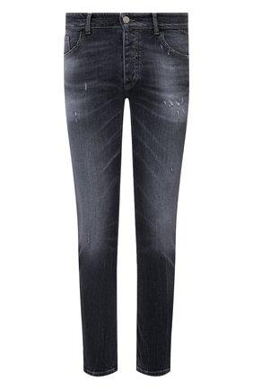 Мужские джинсы PREMIUM MOOD DENIM SUPERIOR темно-серого цвета, арт. S21 0352751640/BARRET   Фото 1