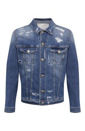 Мужская джинсовая куртка PREMIUM MOOD DENIM SUPERIOR синего цвета, арт. S21 03771400/DUTA | Фото 1
