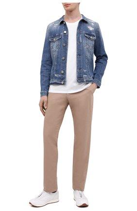 Мужская джинсовая куртка PREMIUM MOOD DENIM SUPERIOR синего цвета, арт. S21 03771400/DUTA | Фото 2