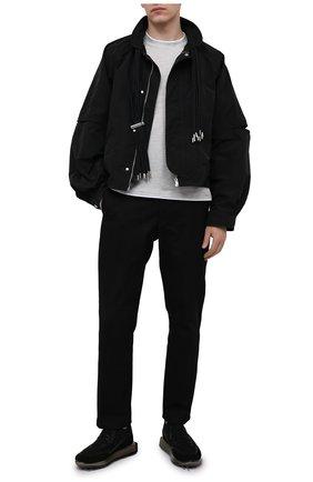 Мужские комбинированные кроссовки RBRSL черного цвета, арт. 7Z2268U.V78TZTT803   Фото 2