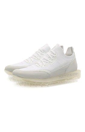 Мужские комбинированные кроссовки RBRSL белого цвета, арт. 7Z2268U.V78TZTT517   Фото 1