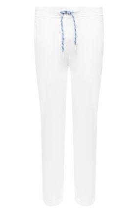 Мужские хлопковые брюки JACOB COHEN белого цвета, арт. J6177 02411-L/55 | Фото 1 (Материал внешний: Хлопок; Длина (брюки, джинсы): Стандартные; Случай: Повседневный; Мужское Кросс-КТ: Брюки-трикотаж; Стили: Спорт-шик)