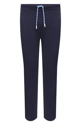 Мужские хлопковые брюки JACOB COHEN темно-синего цвета, арт. J6177 02411-L/55 | Фото 1 (Длина (брюки, джинсы): Стандартные; Материал внешний: Хлопок; Случай: Повседневный; Стили: Спорт-шик; Мужское Кросс-КТ: Брюки-трикотаж)